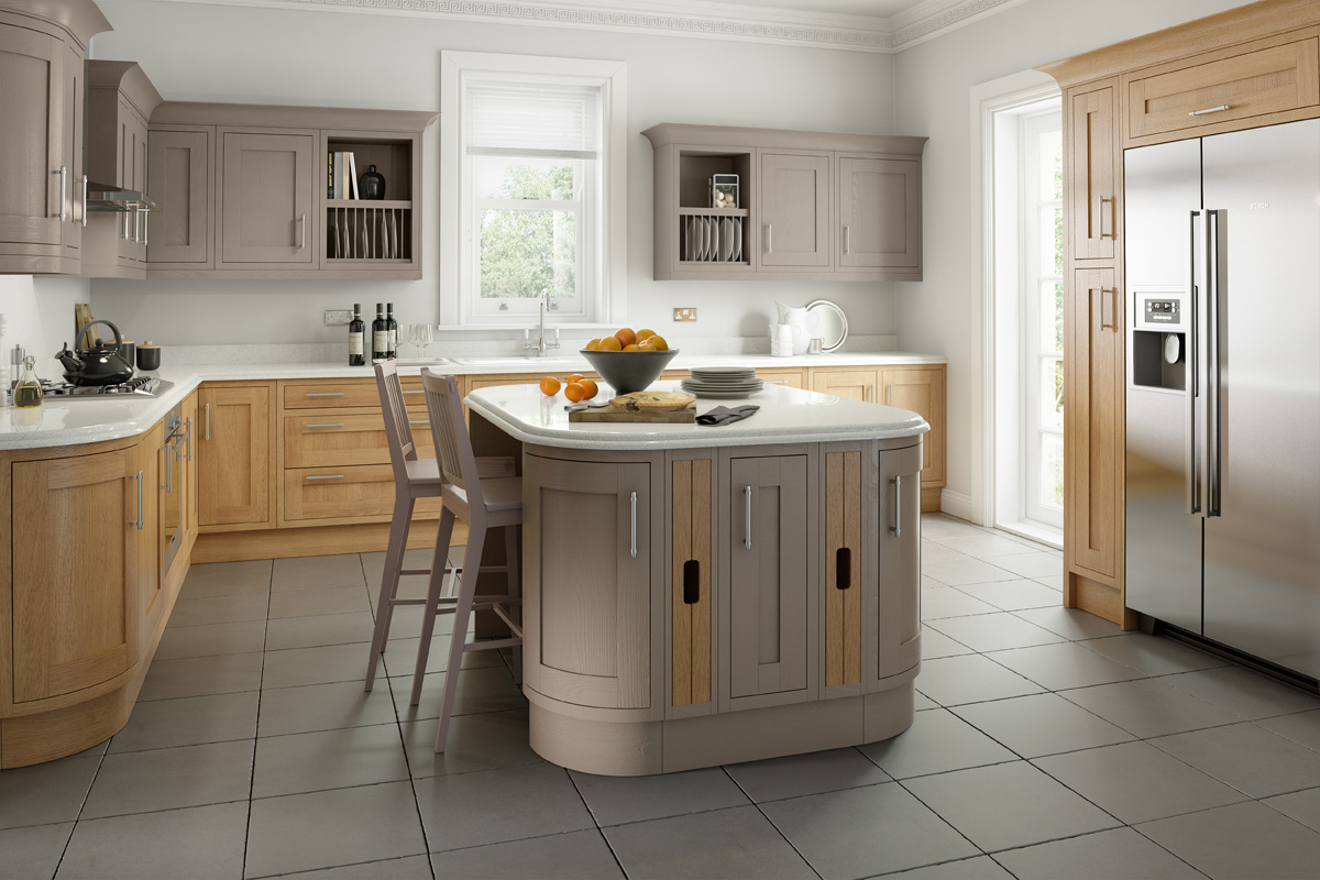 COUNTRY LISSA OAK PAINTED HICKORY