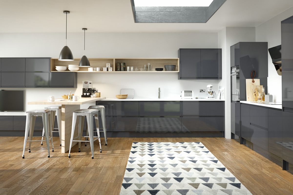 INTEGRAL GLOSS ANTHRACITE
