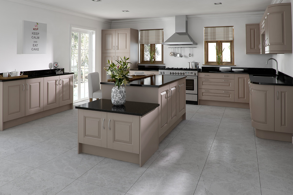 SCULPTURED PAINTED TAUPE
