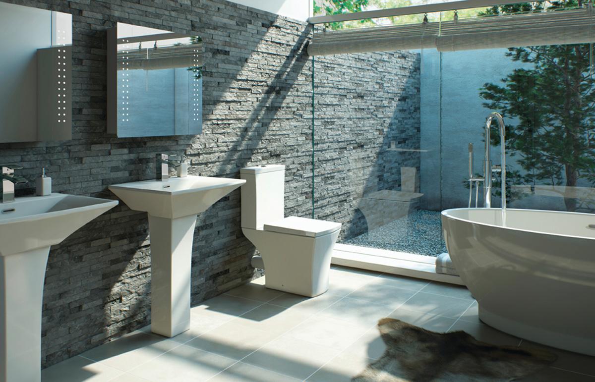 Sandalwood Bathroom Suite